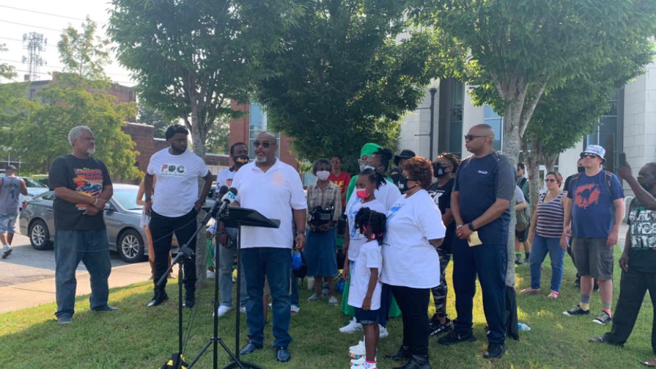 NAACP marks 100 days since Andrew Brown Jr.'s death.PNG