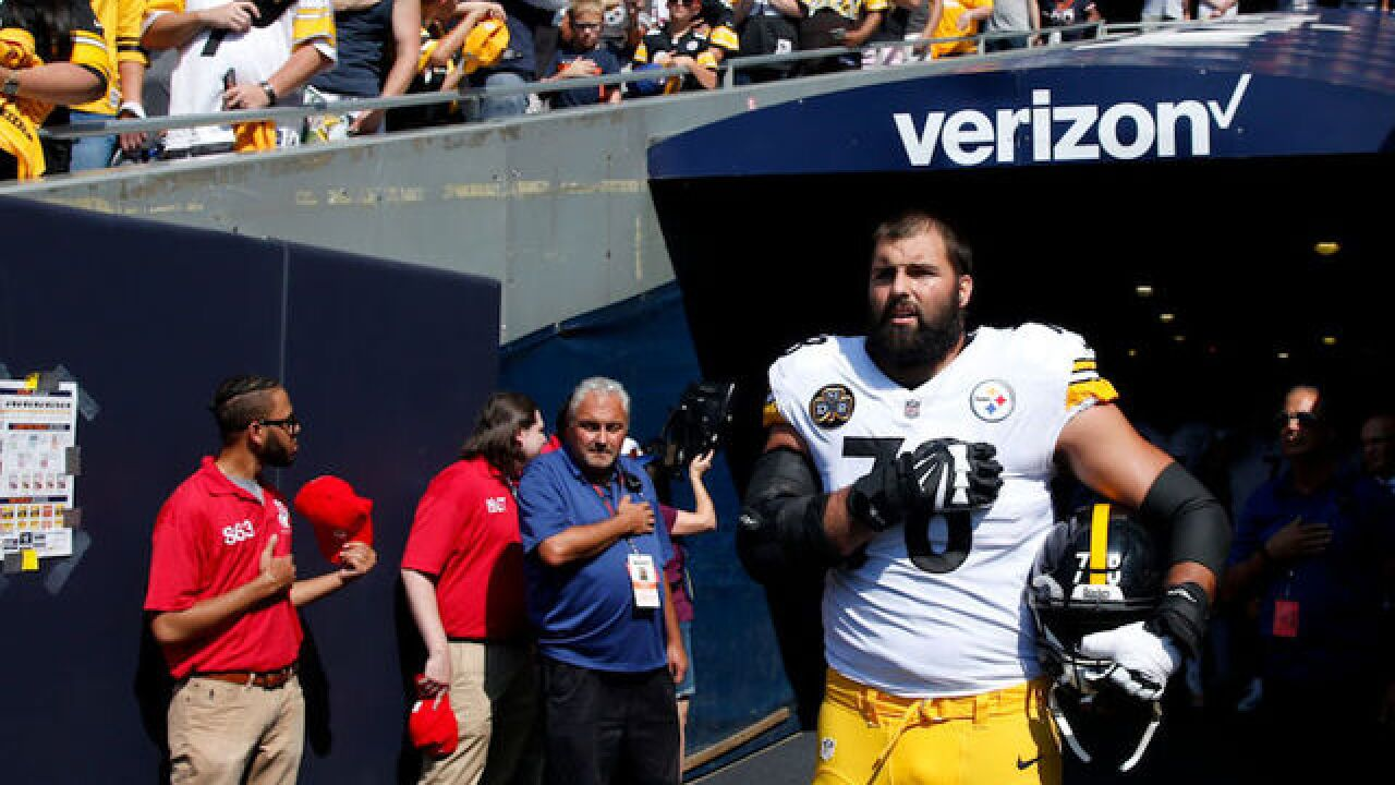 870da294 Lone Steeler who stood during anthem: I threw my teammates under the bus  unintentionally