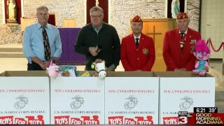 Spirit of Acadiana: STM Toys for Tots Drive