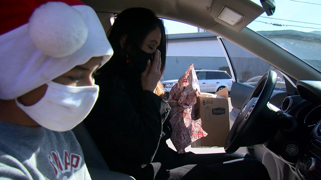 Valley nonprofit gifts single moms new cars