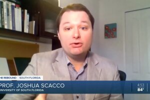 Joshua Scacco, University of South Florida professor