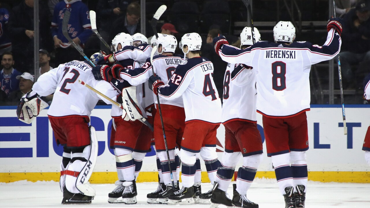 best loved 65a41 e0f18 Columbus Blue Jackets headed to Stanley Cup Playoffs for 3rd ...