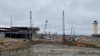 KCI construction site