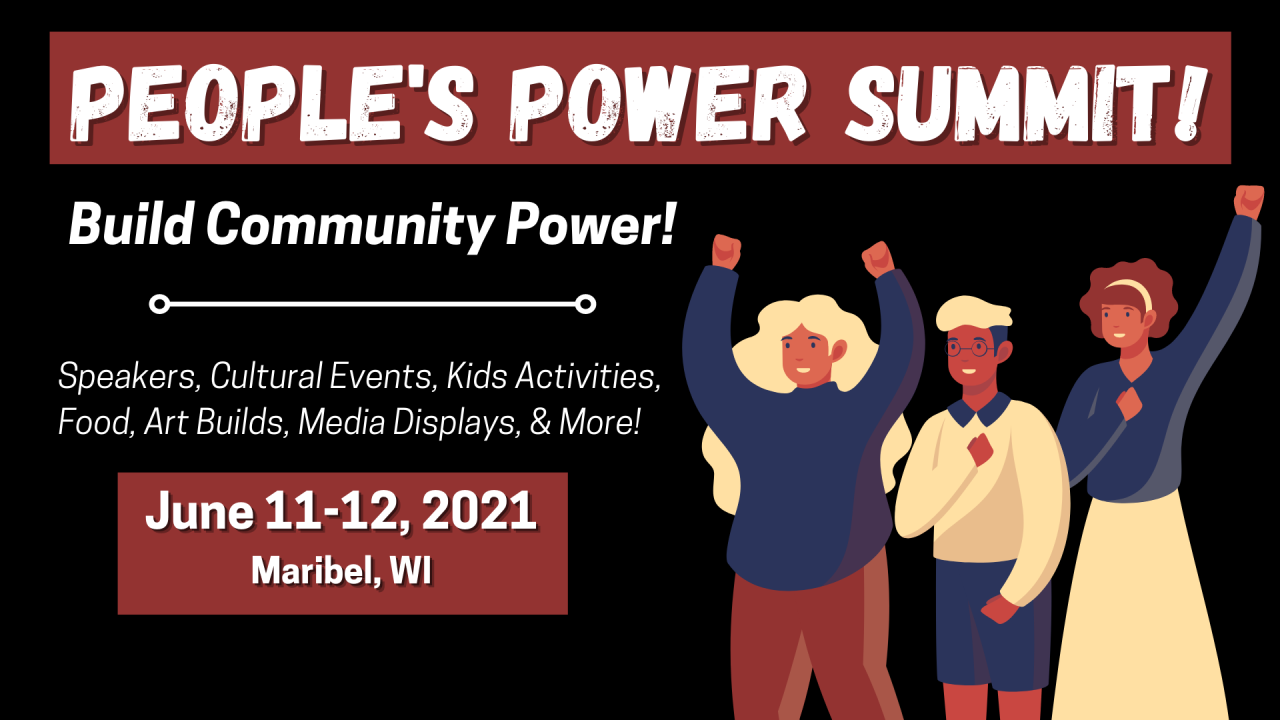 Wisconsin People's Power Summit