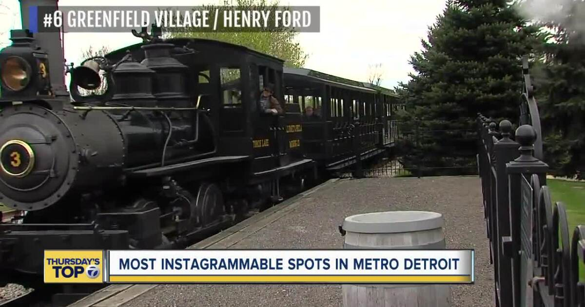 You voted and these are the top 7 most Instagrammable spots in metro Detroit