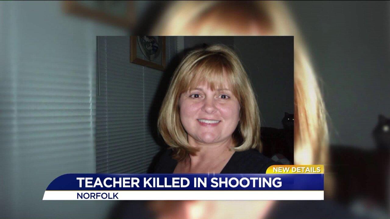 Norfolk teacher dies after shooting, policeinvestigating