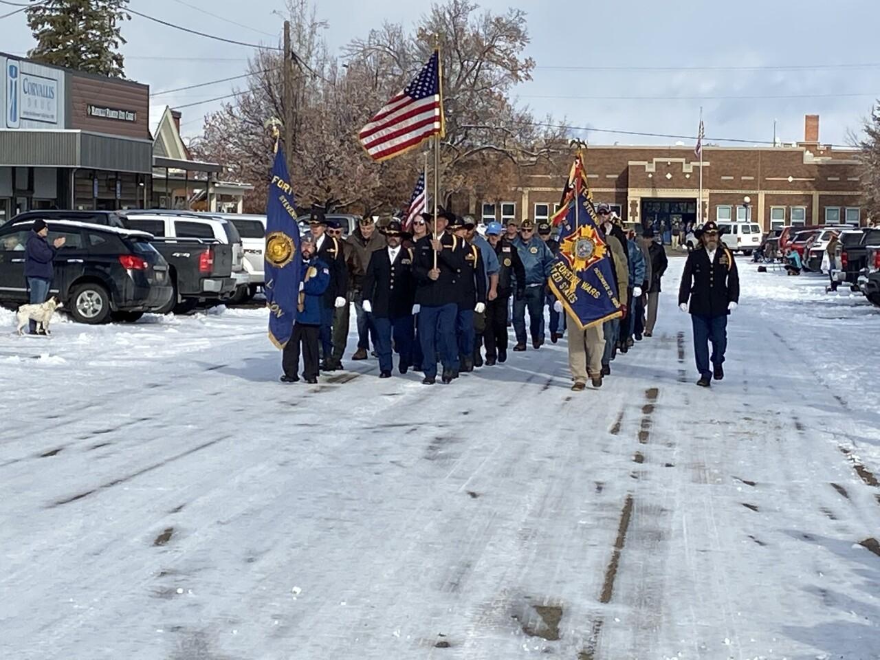 Corvallis Veterans Day