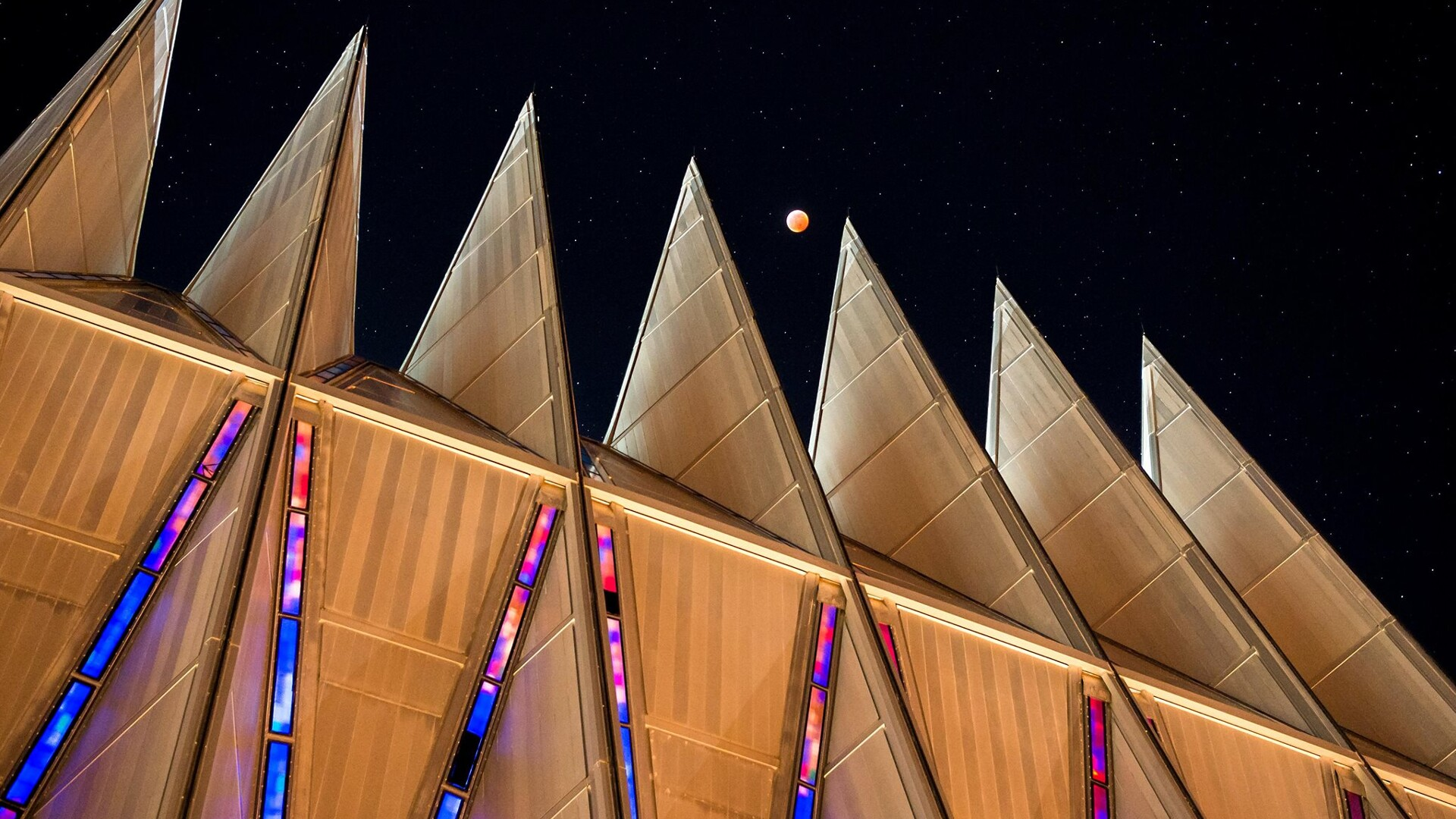 Super Blood Wolf Moon Cadet Chapel U.S Air Force Trevor Cokley.jpg