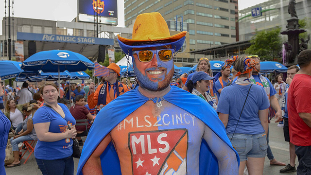 FC Cincy fans vindicated by MLS invite