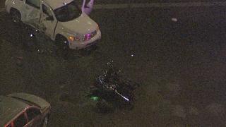 Motorcyclist hurt in crash in Glendale 10-29-19