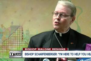 "Bishop Scharfenberger: ""I'm here to help you heal"""