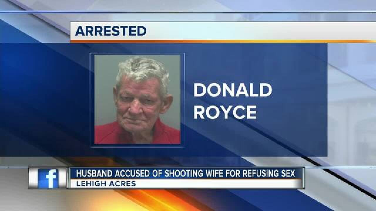 76-year-old shoots new wife after sex argument