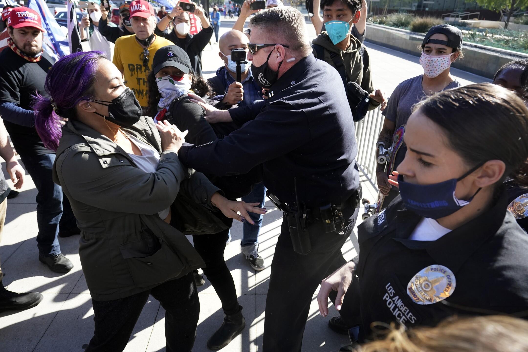 Electoral College Protests California