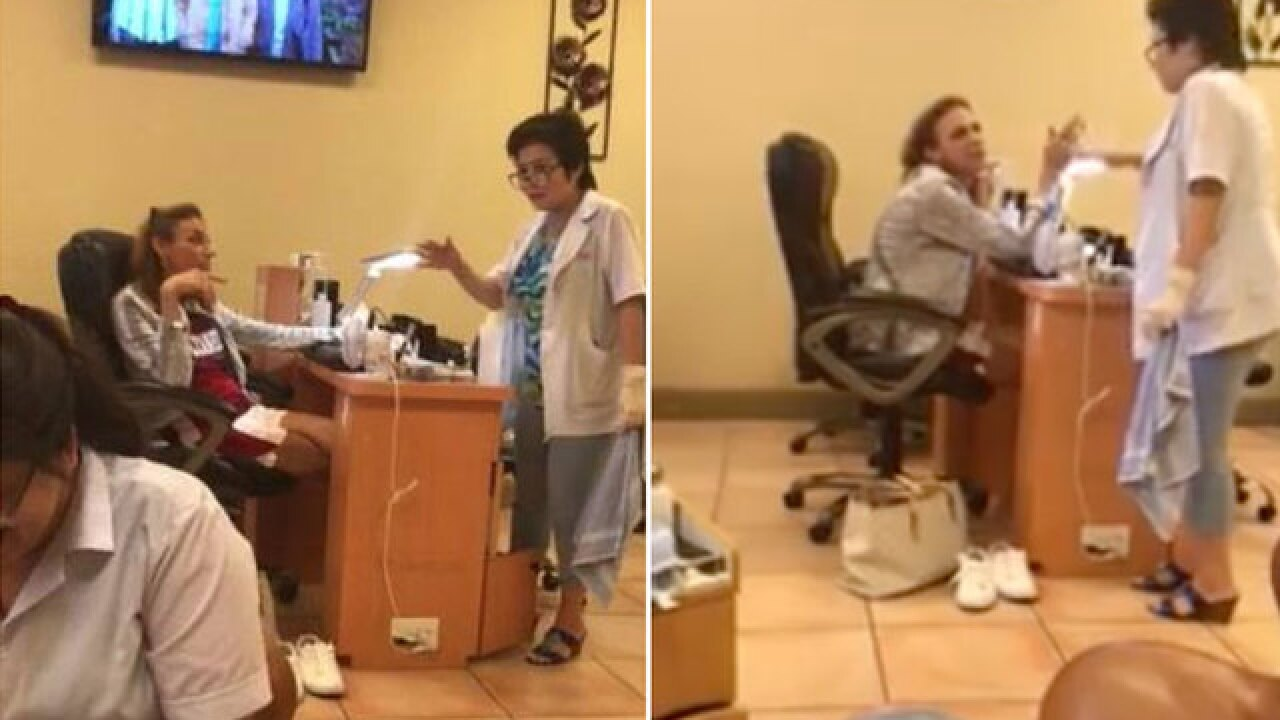 Community responds after video of woman's racist rant at Florida nail salon goes viral