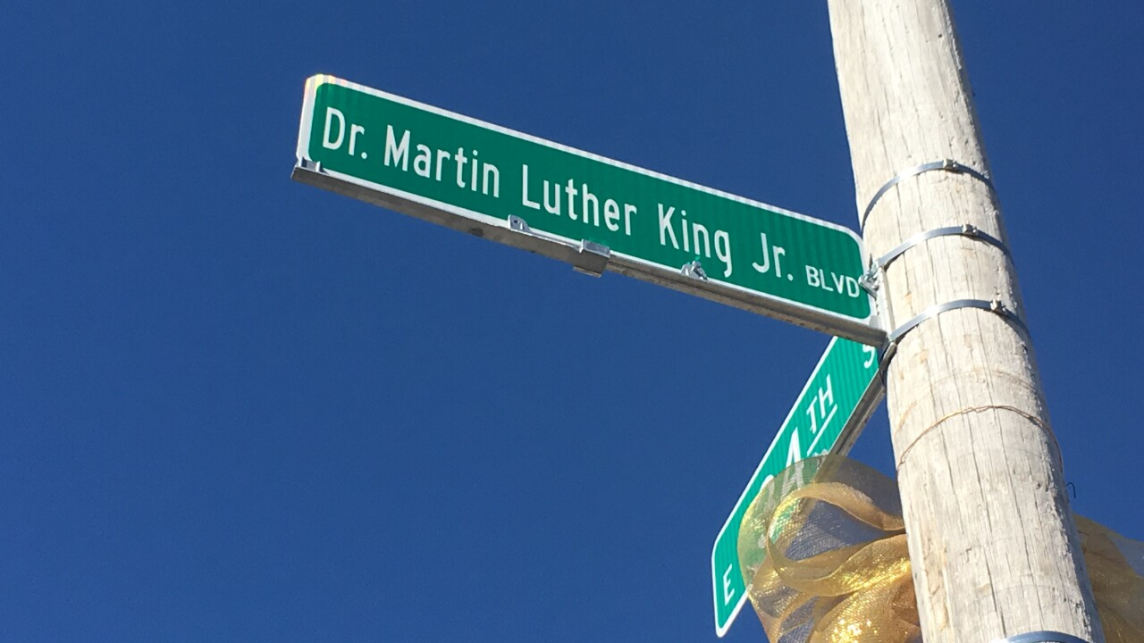 Martin Luther King Jr. Blvd.
