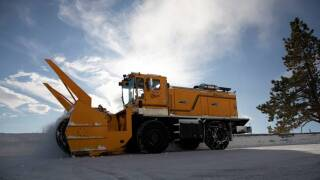 SNOW PLOW NDOT FILE PHOTO