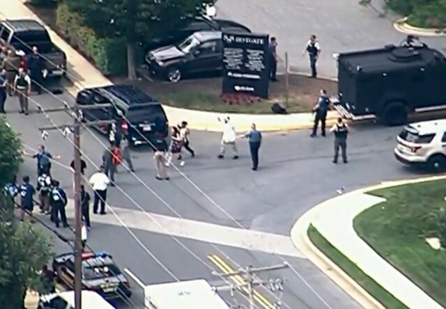 PHOTOS: Shooting at Capital Gazette newspaper in Maryland
