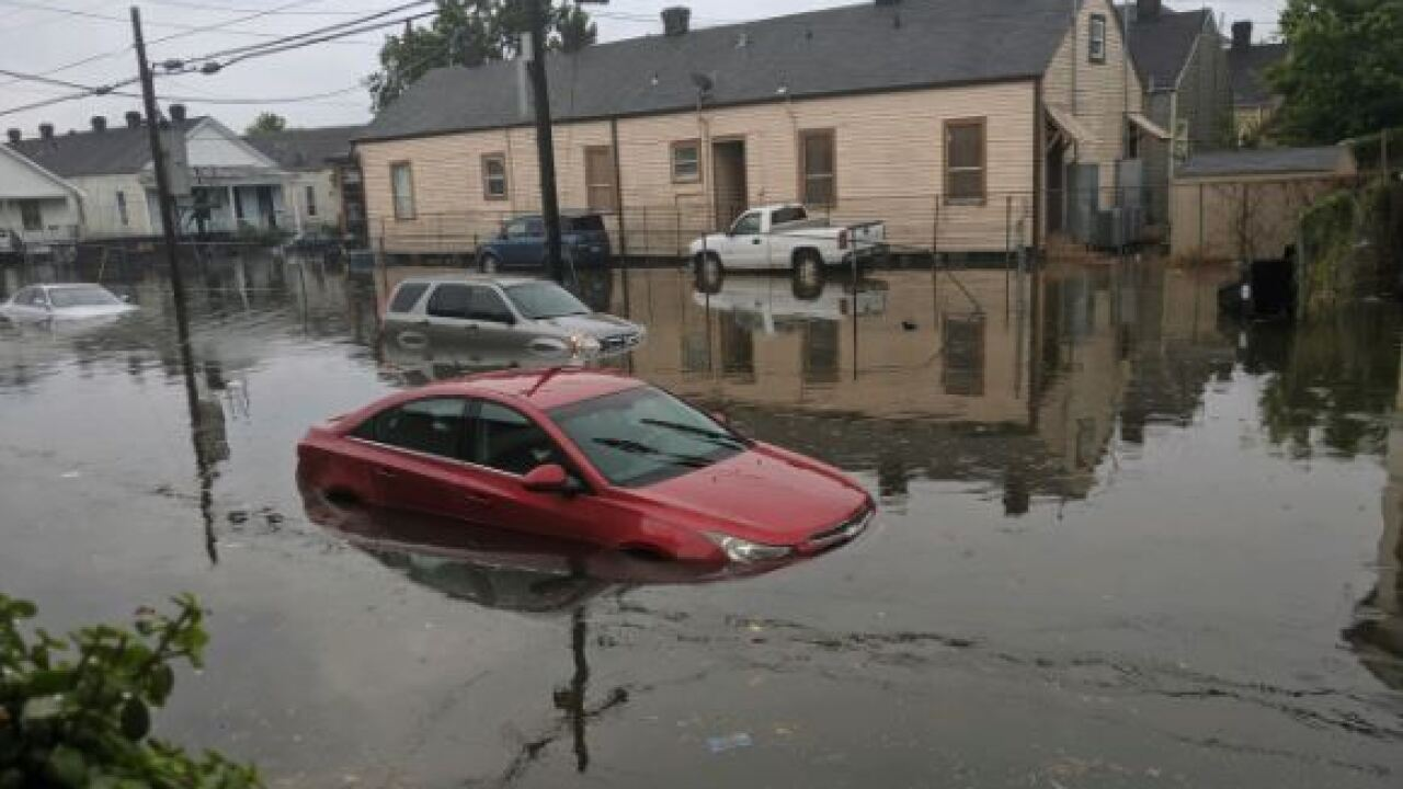 New Orleans is already getting flooded as Louisiana declares a state of emergency