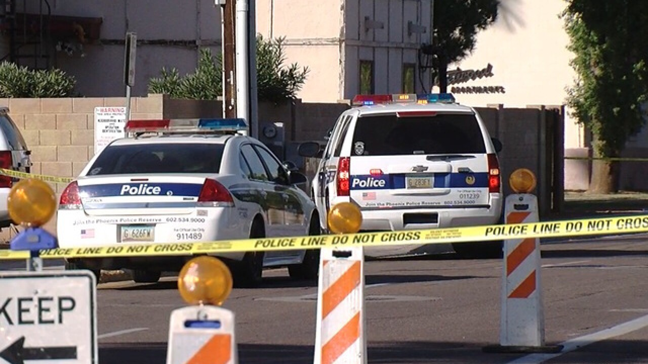 PHX PD investigating officer-involved shooting