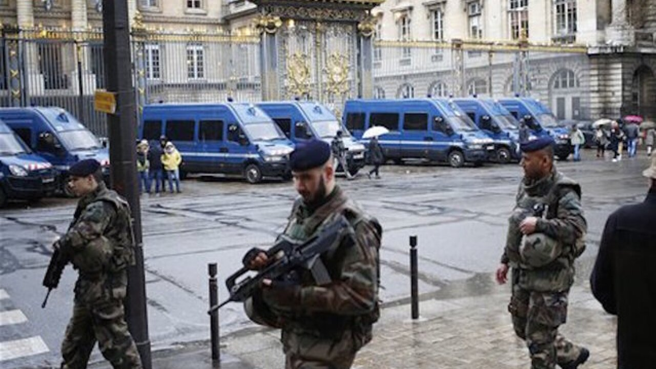 Suspect charged with terrorism in France