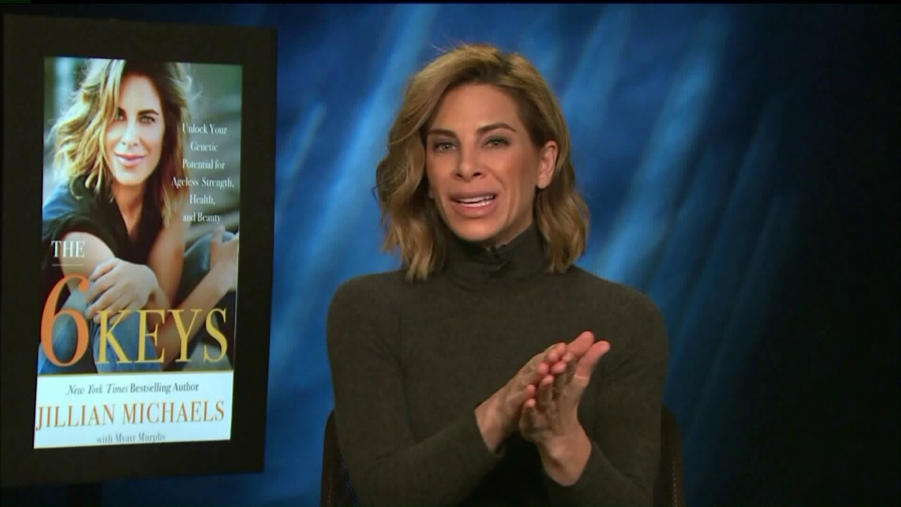 Unlock the key to a healthier life with Jillian Michaels