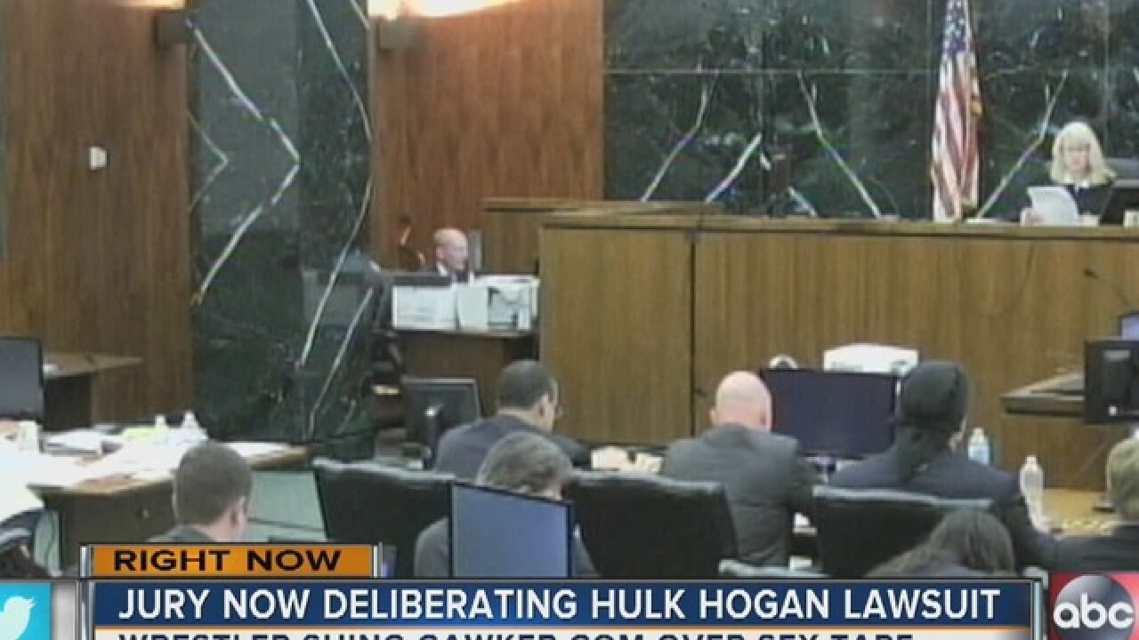 Hulk Hogan lawsuit now in jury's hands