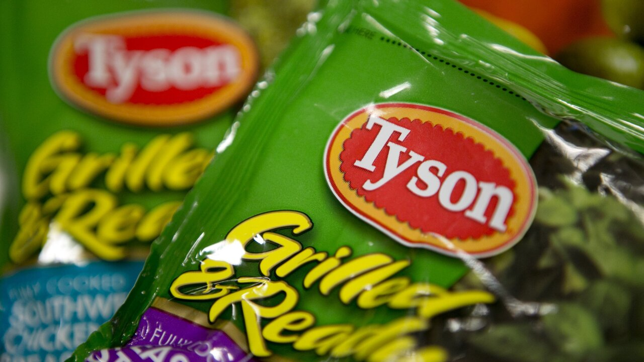 Tyson, one of the world's biggest meat producers, will start selling a plant-based protein