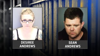 Couple accused of killing dog in Lakewood_Desiree Andrews_Sean Andrews.jpg