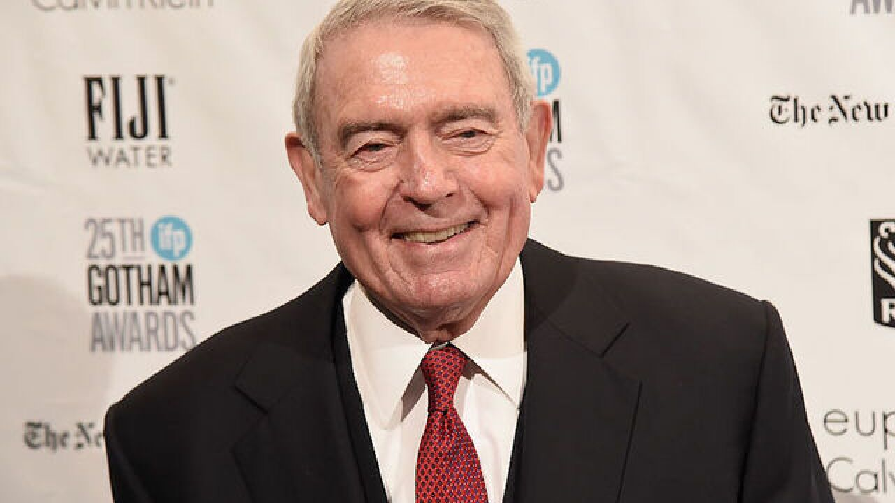 Dan Rather to Trump: Dropping bombs does not make you presidential