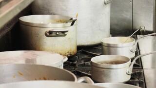 kitchen pots and pan