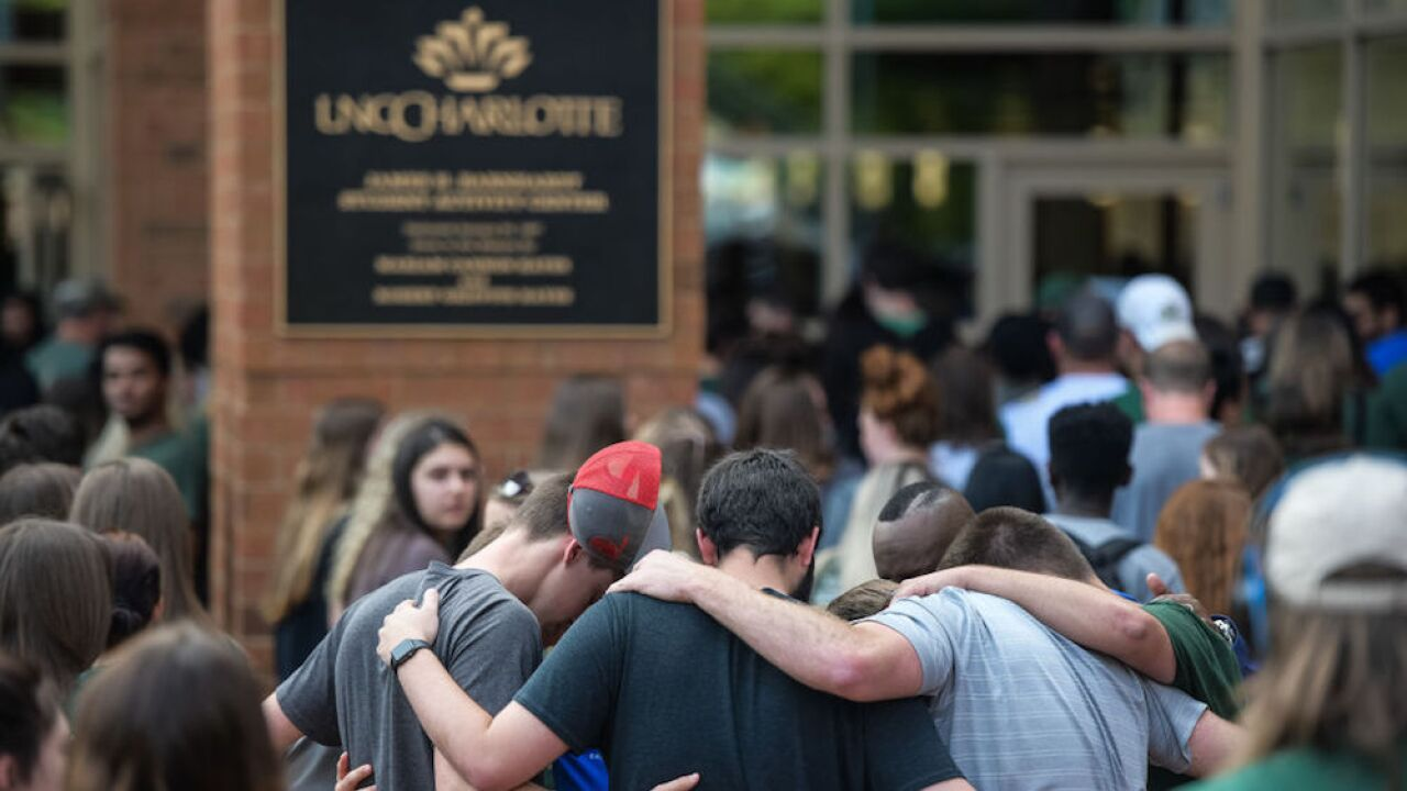 Man killed in UNC-Charlotte shooting rushed gunman, saved lives
