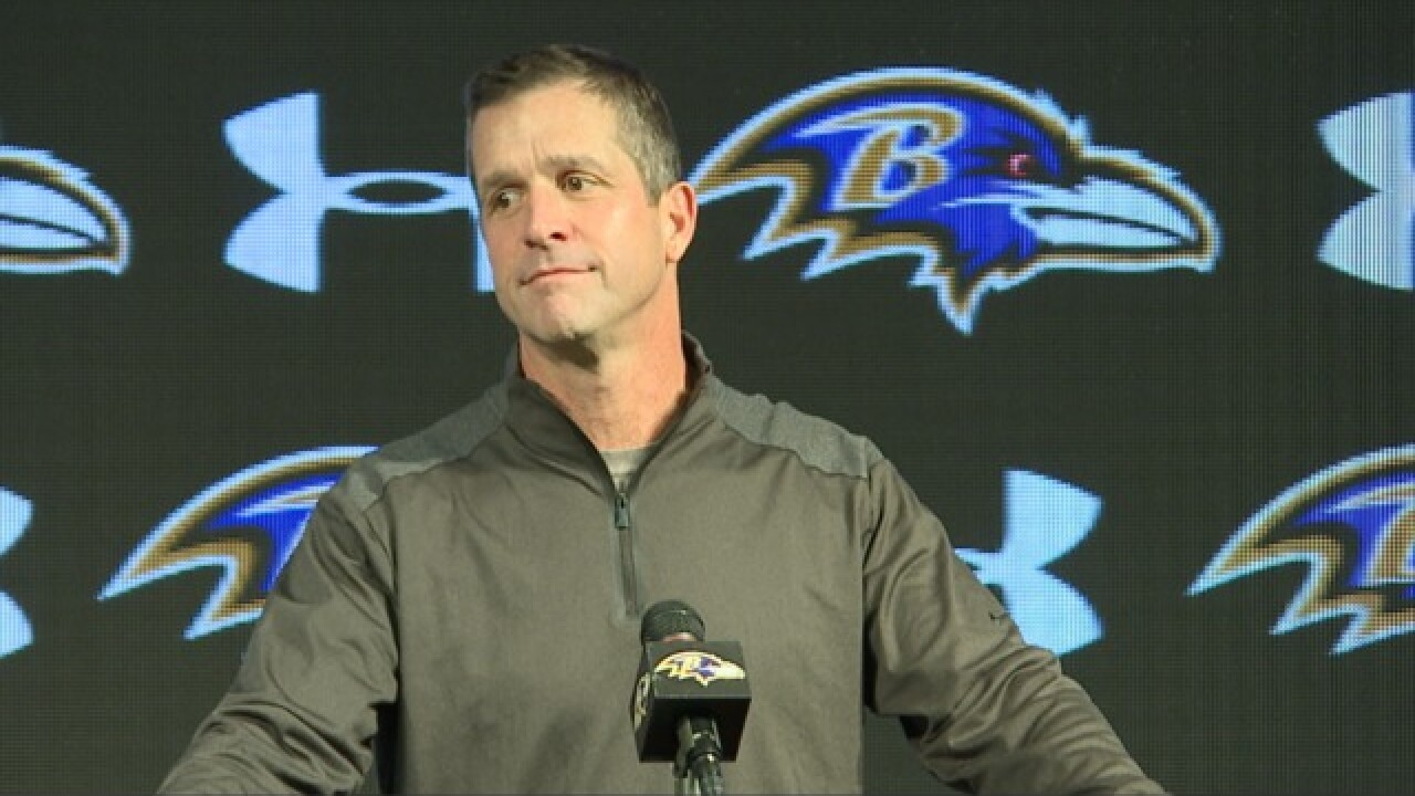 "Harbaugh: ""The reports of our demise were greatly exaggerated"", Ravens sitting pretty in playoff mix"