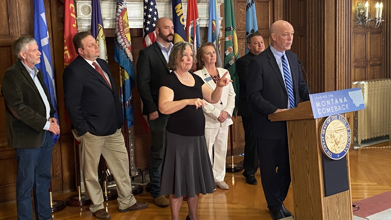 Gianforte Legislature Presser