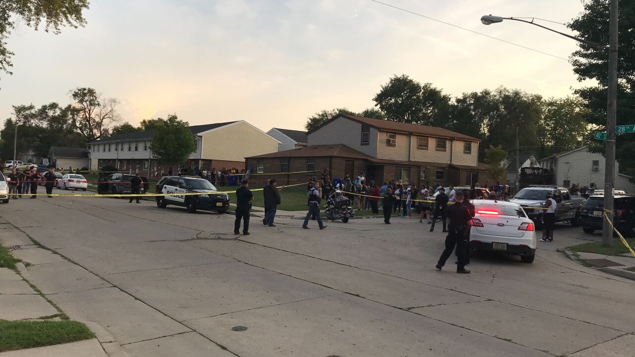 Protests take place in Kenosha, Wisconsin after man shot by police