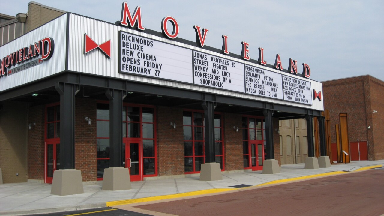 Bow Tie Cinemas celebrates 10 years in Richmond with $5 tickets,popcorn