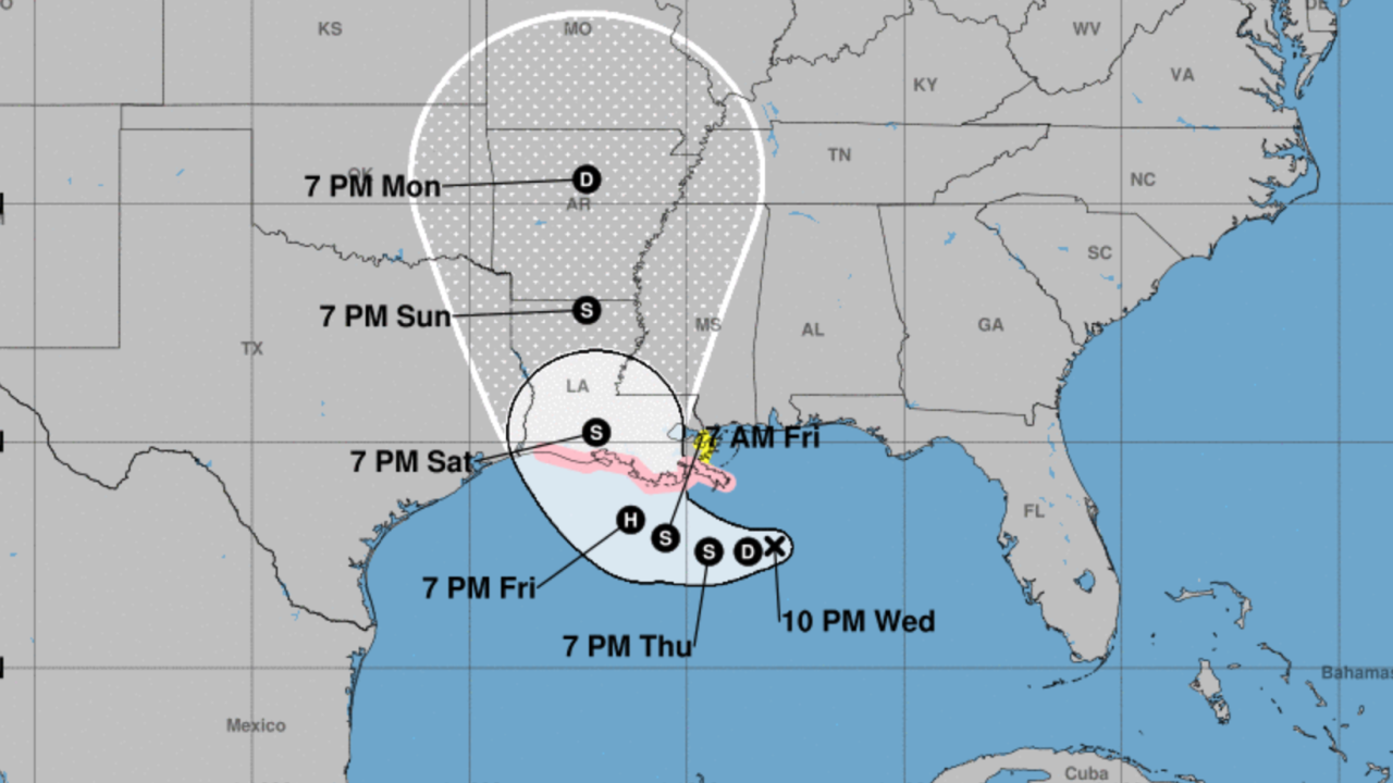 Hurricane watches remains active as disturbance nears tropical depression status