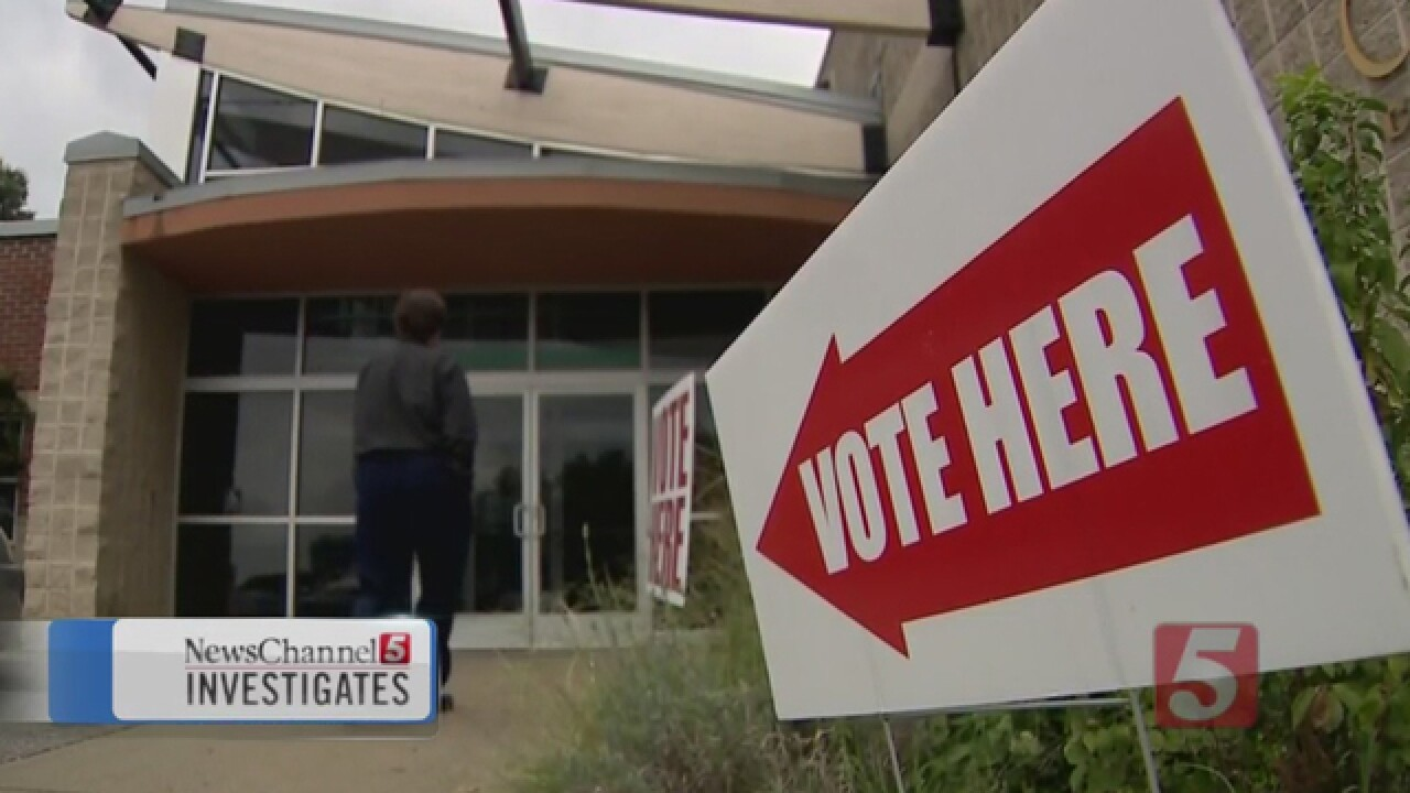 Woman Questions Being Kicked Off Voter Rolls