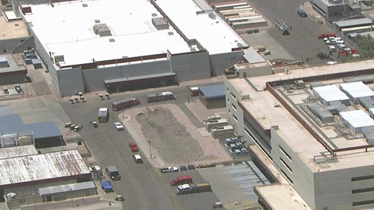 Crews respond to hazmat at Intel in Chandler