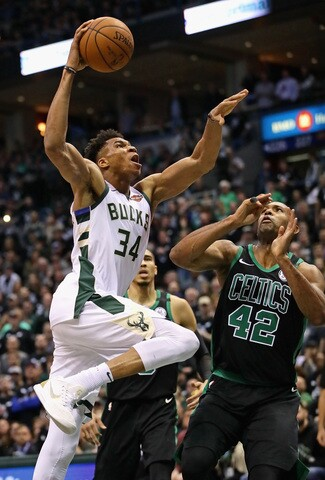 GAME 4: Milwaukee Bucks vs. Boston Celtics [PHOTOS]