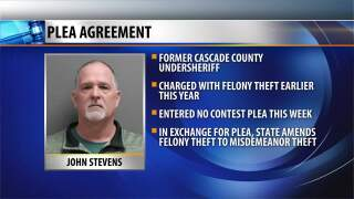 Former undersheriff enters into plea agreement in CCSO theft case