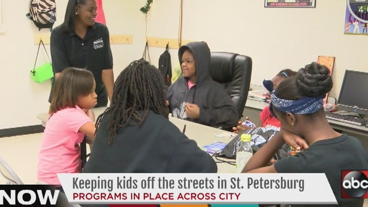 St. Pete programs help keep kids off streets
