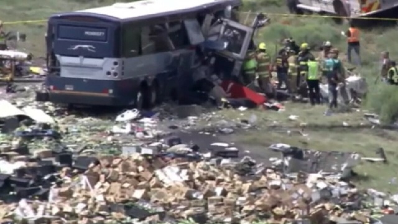 Multiple people killed in New Mexico bus crash