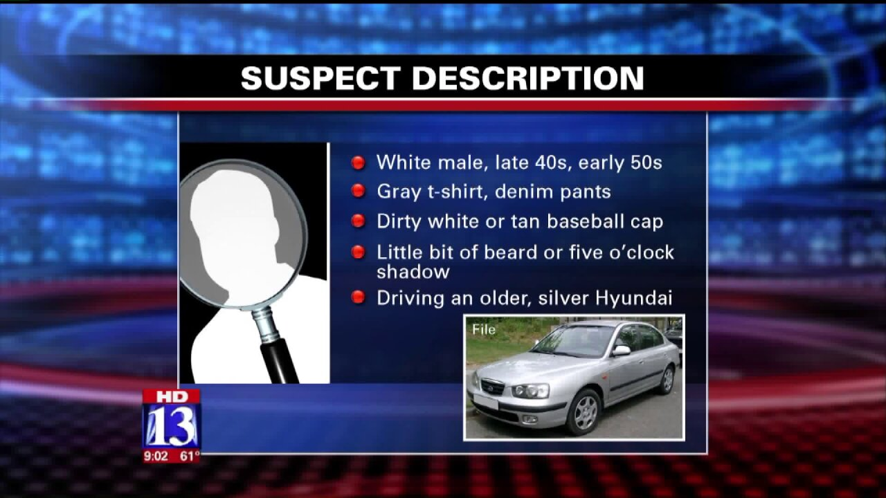Murray Police say suspect in abduction attempt used candy to enticechild