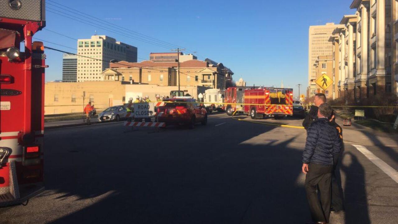Evacuation orders lifted following gas leak in SLC's Avenuesneighborhood