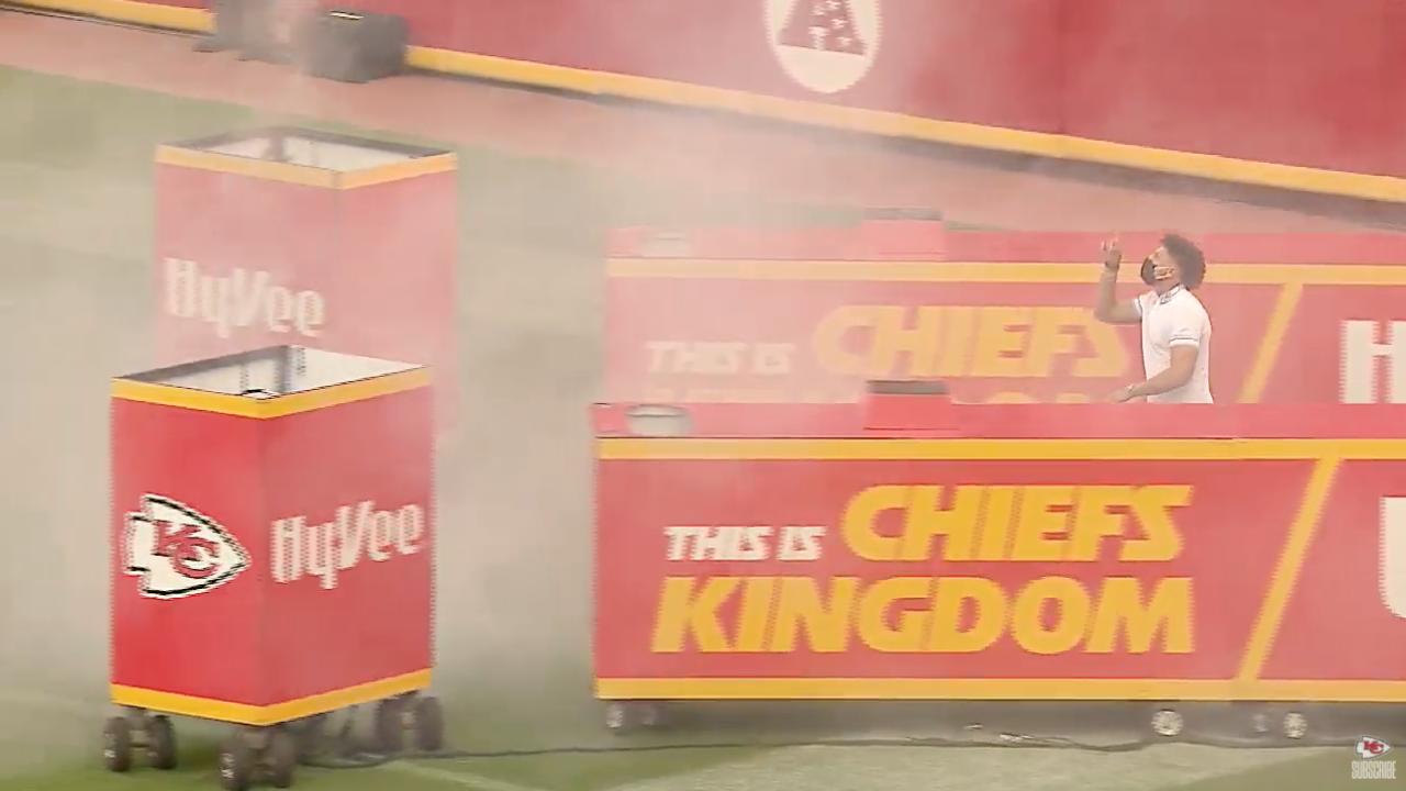 Patrick Mahomes Super Bowl Ring ceremony