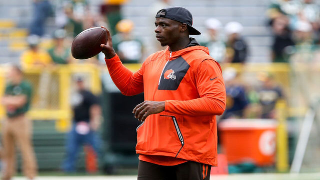 Browns WR Josh Gordon cleared for practice