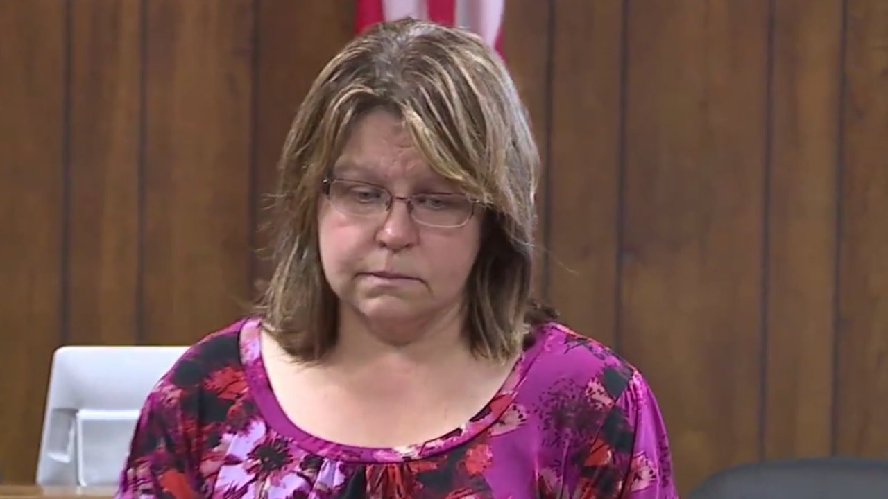 Gail Eastwood-Ritchey appears in court
