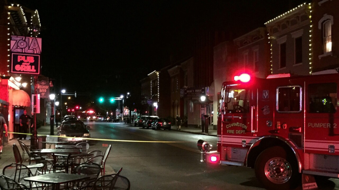 Covington authorities shut down parts of Mainstrasse Village for 'suspicious bag' investigation