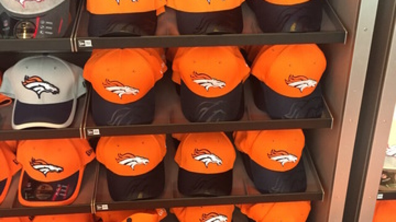 New merchandise debuting for Broncos fans