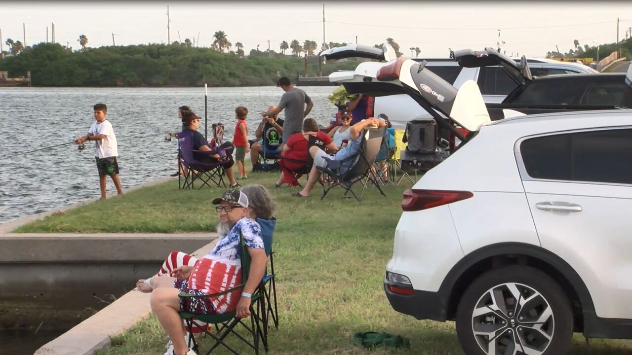 The (fireworks) show goes on in Aransas Pass